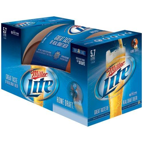 Miller Lite Home Draft Beer 5 7 L Walmart Com