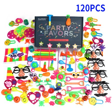 120Pcs Party Favors Toy Assortment for Birthday Pinata Fillers Carnival Prizes Classroom Rewards Christmas Gift - Cheap Carnival Prizes