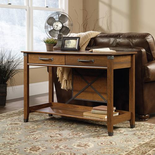 Sauder Carson Forge Sofa Table, Washington Cherry