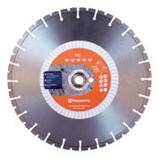 Husqvarna 14 in. Dia. x 1 in./20 mm HI5 Diamond Segmented Rim Saw Blade 24 teeth 1 pk