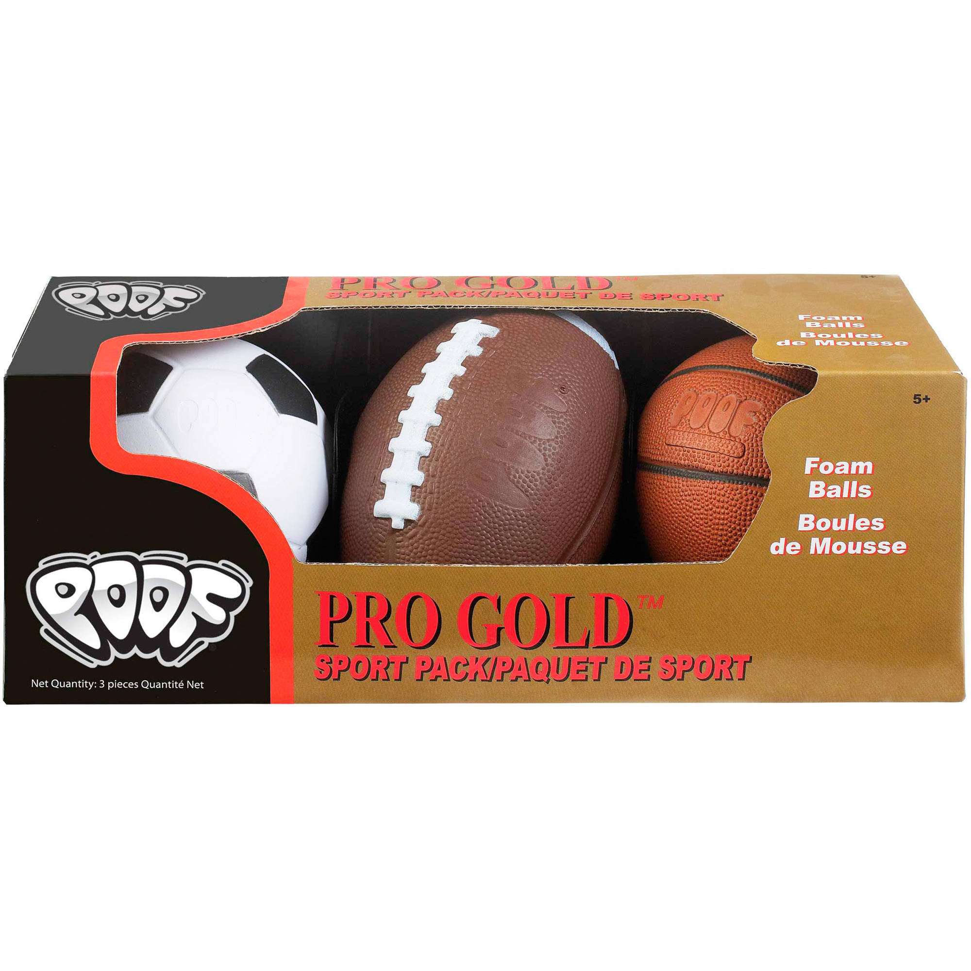 POOF Pro Gold Sport Pack