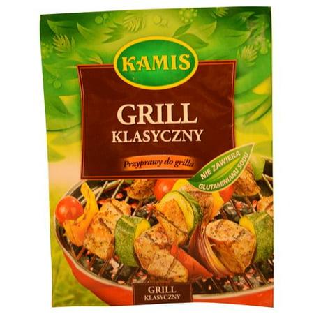 25g Bag (Kamis Grill Klasyczny Classic Barbecue Spice Mix 25g Bag)
