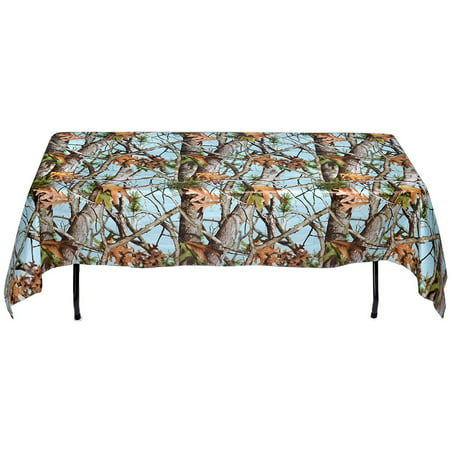 Light Blue Camo Table Cover (Light Blue Table Cover)