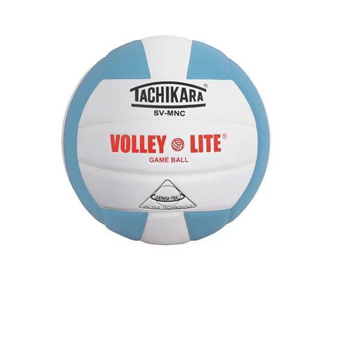 Tachikara Volley-Lite Training Volleyball Powder Blue//White