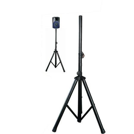 Nutek SS-007 Heavy Duty Speaker Stands Adjustable Tripod Pole Speaker Mounts Height from 30