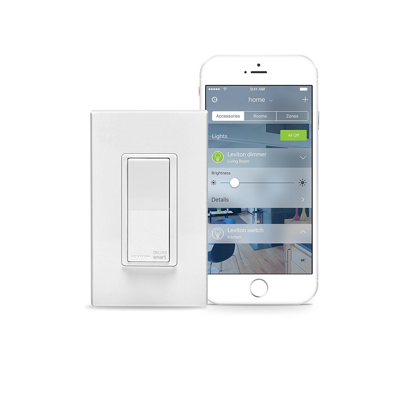 Leviton DH15S-1BZ 15A Decora Smart Switch for iOS - Walmart.com