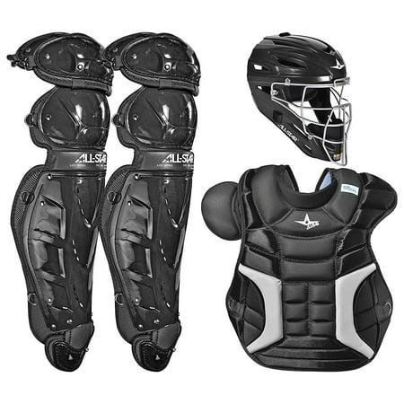 - All-Star Sports Adult Classic Plastic Protective Baseball Catchers Set, Black