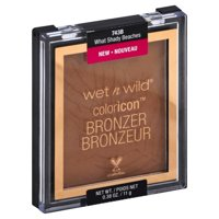 Wet n Wild Color Icon Bronzer, What Shady Beaches 743B, 0.38 oz