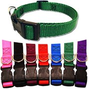 Majestic Pet 14`` - 20`` Adjustable Collar in Multiple Colors Fits Most 40-120 lbs Dogs