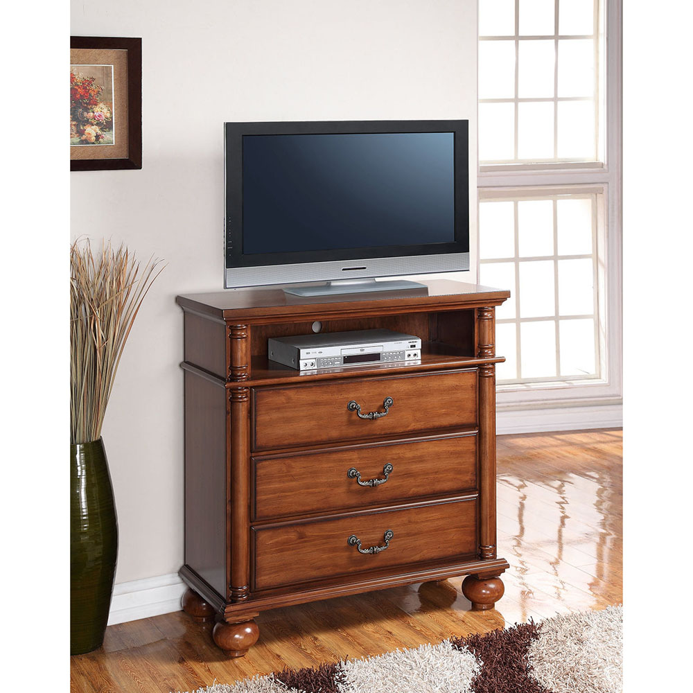 Cambridge Raleigh 3 Drawer Media Chest