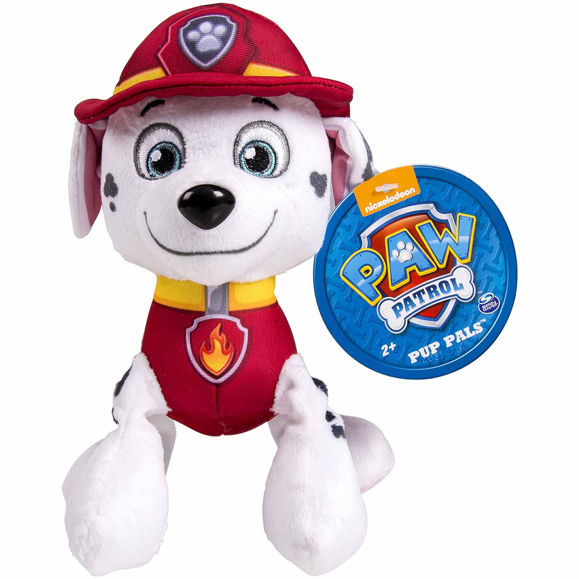 """Nickelodeon Paw Patrol 8"""" Plush Pup Pals Zuma Walmart"""