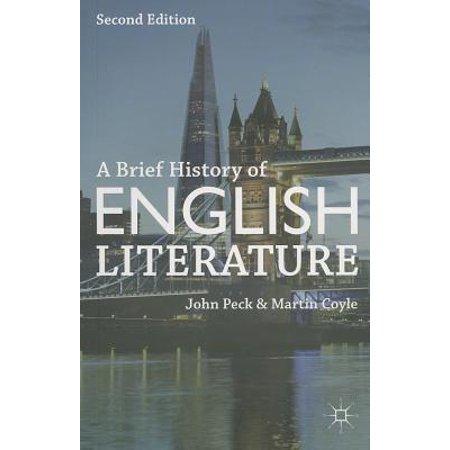 A Brief History of English Literature - Halloween Uk History