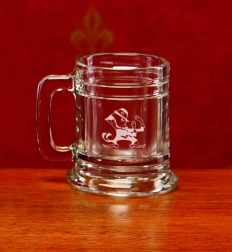 Notre Dame Fighting Irish Leprechaun Deep Etched Colonial Shot Mug