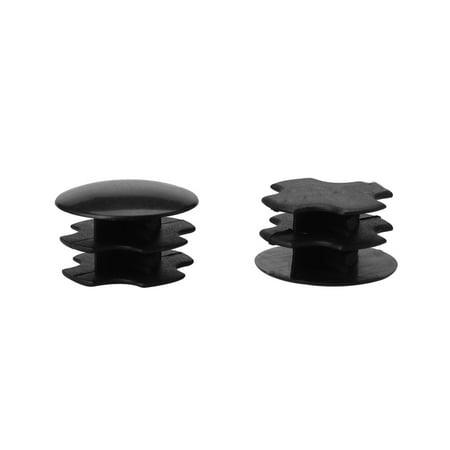 """19mm Tube rond plastique protecteur noir Insert 0.63""""-0.71"""" Dia intérieur 2pcs - image 7 de 7"""