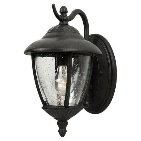 Sea Gull Lighting 84069 Lambert Hill 1-Light Outdoor Lantern Wall -
