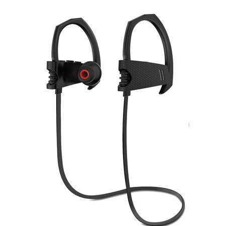 TSV Bluetooth Headphones, Wireless Headset V4.1 Heavy Bass Stereo In Ear Earbuds Noise Isolating IPX5 Waterproof Sports Earphones with Mic