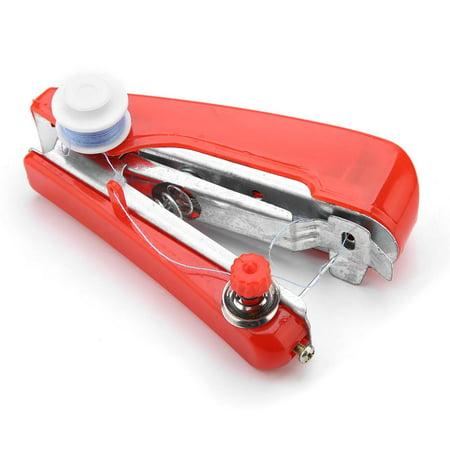 Anauto Handheld Sewing Machine Mini Portable Stitch Manual Sewing Machine for Home Travel Use , Pocket-sized Sewing Machine, Handheld Sewing
