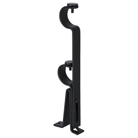 Urbanest Adjustable Double Rod Bracket, Up to 1 1/8