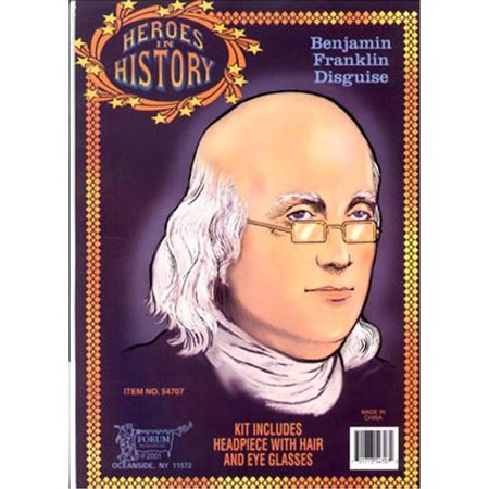 Halloween Adult Franklin Heroes In History