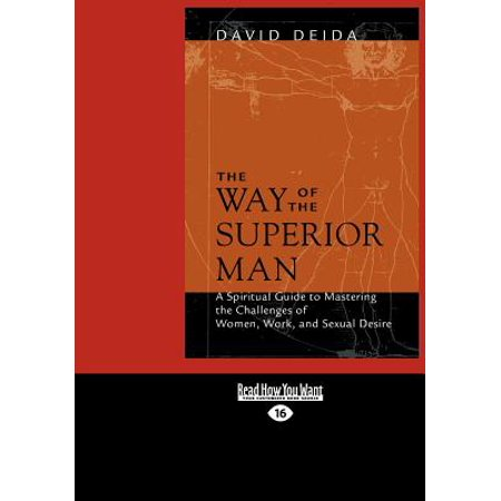 The Way of the Superior Man (Large Print 16pt)