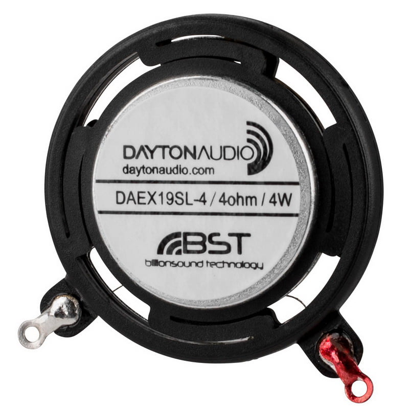 Dayton Audio Daex19sl 4 Slimline Coin Type 19mm Exciter 4w 4 Ohm
