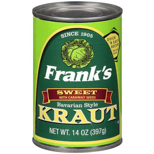 Frank's: Kraut Bavarian Style, 14 Oz