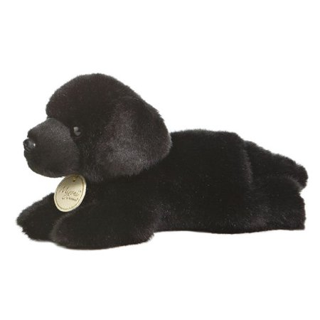 Black Lab 8 Inch Miyoni Dog Puppy Stuffed Animal By Aurora Plush