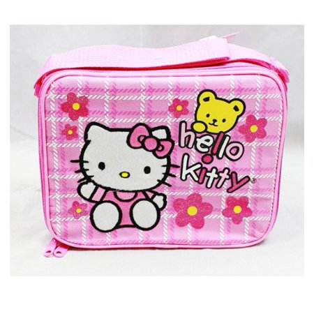 Lunch Bag - Hello Kitty - Teddy Bear New Case Girls Gifts Licensed 81606