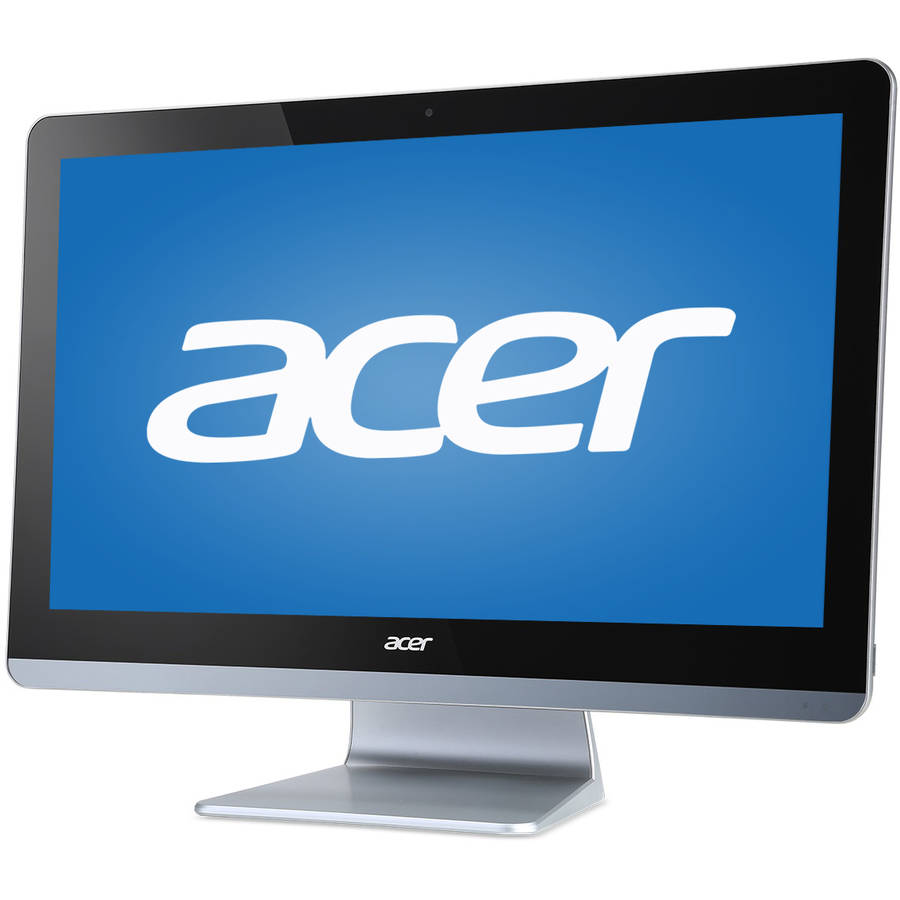 "Manufacturer Refurbished Acer Aspire ZC-700G DQ.B2MAA.001.RB1 All-in-One Desktop PC with Intel Celeron N3150 Processor, 4GB Memory, 19.5"" Monitor, 500GB Hard Drive and Windows 10 Home"