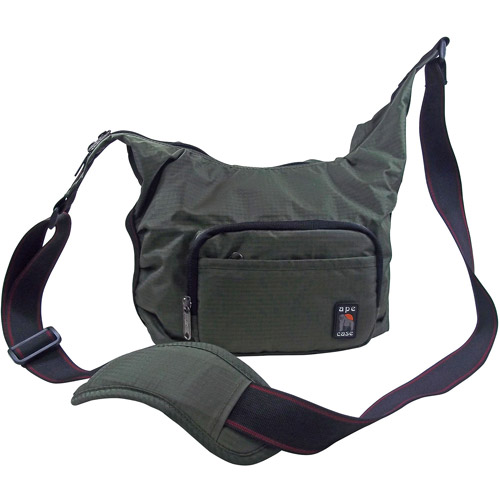 Ape Case Envoy Messenger Bag for Compact DSLR Cameras, Olive Drab