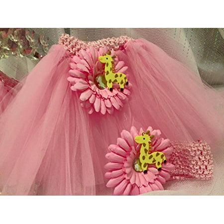 Pink Tutu Diaper Cake Giraffe Baby Theme Decoration Baby Shower Decoration](Tutu Baby Shower Theme)