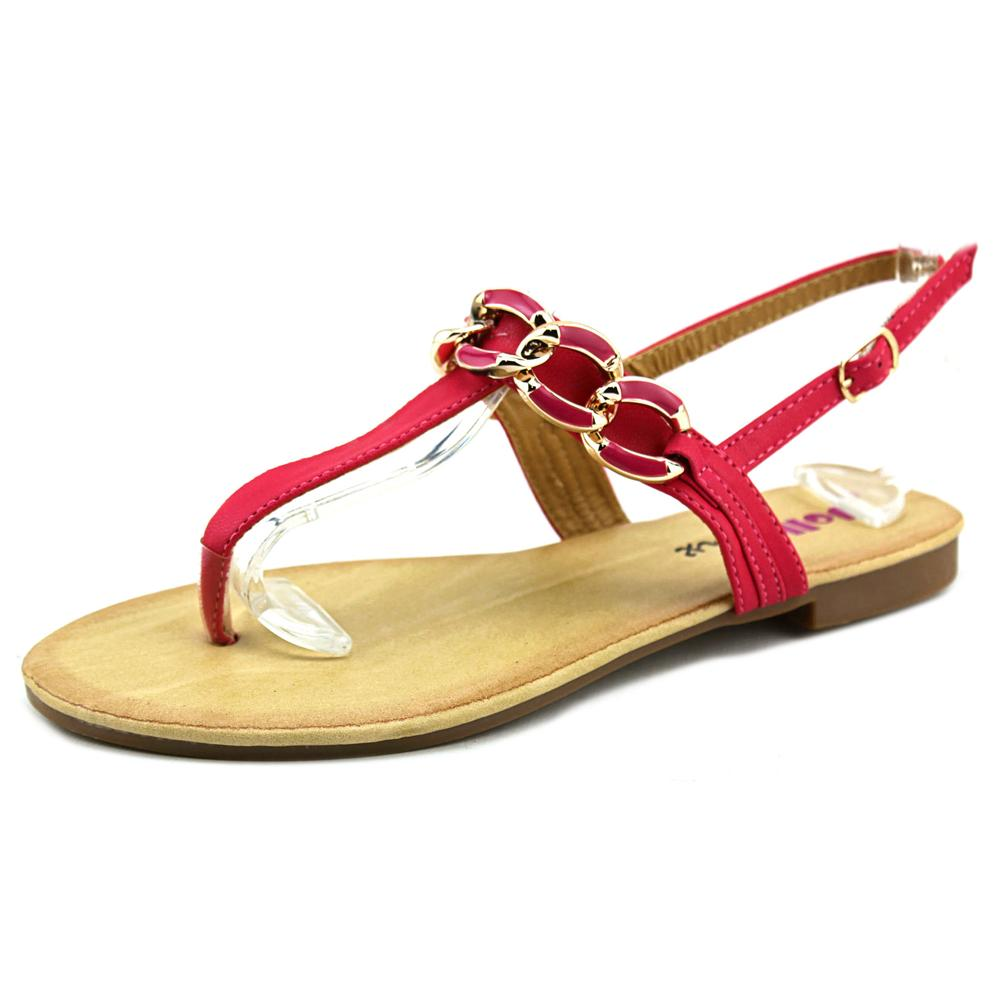 Dollymix Joanna Women  Open Toe Synthetic  Thong Sandal