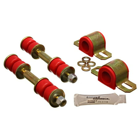(Energy Suspension 89-94 Toyota Pickup 2WD (Exc T-100/Tundra) Red 23mm Front Sway Bar Bushing Set)