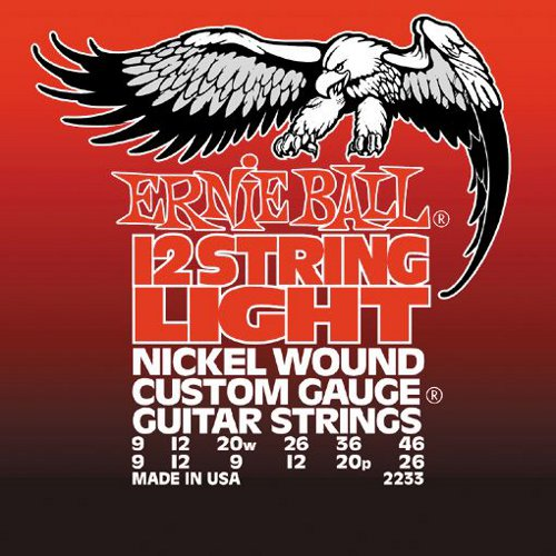 Nickel 12-String Light Electric Guitar Strings