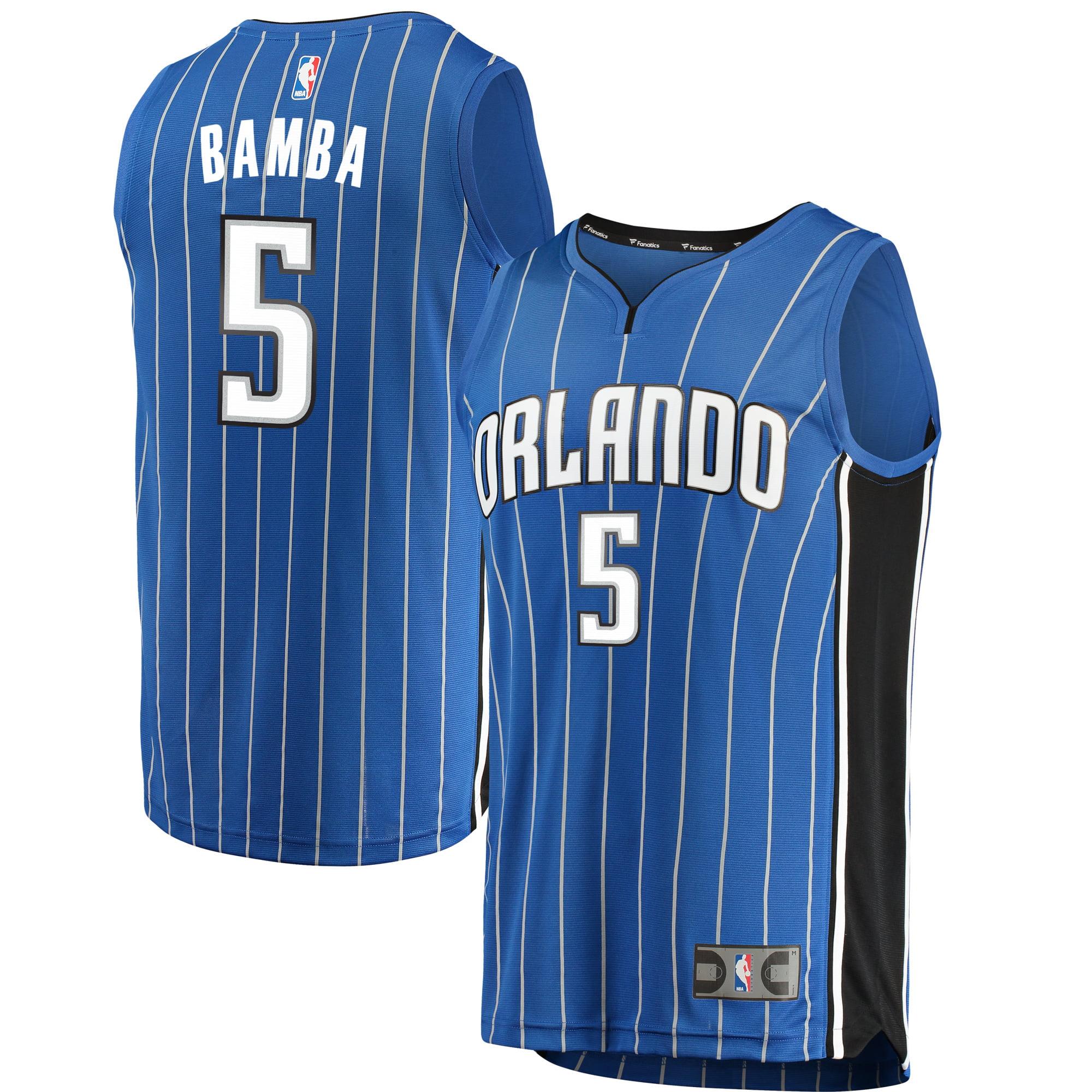 Mohamed Bamba Orlando Magic Fanatics Branded Youth Fast Break Replica Jersey Blue - Icon Edition