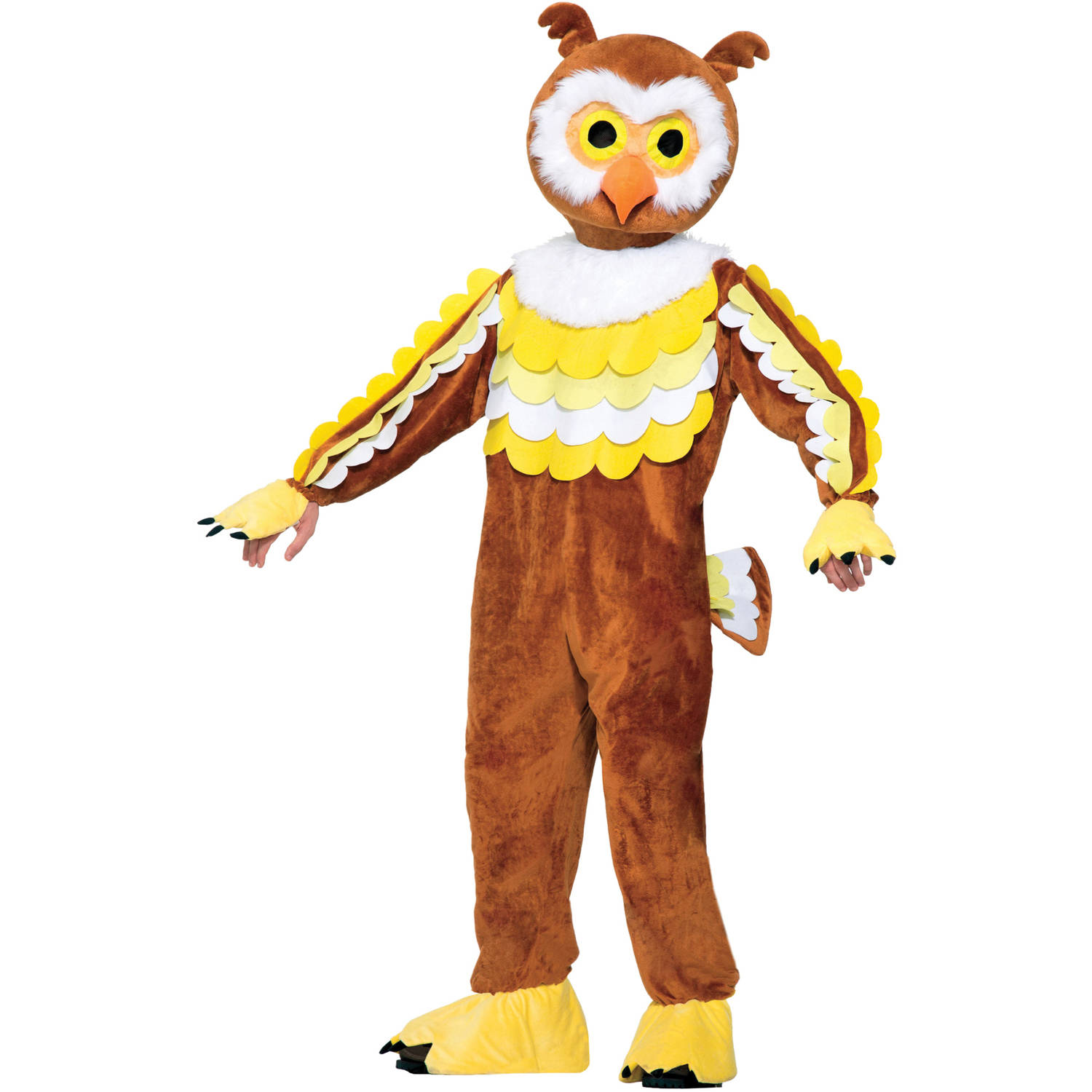Owl Give A Hoot Mascot Neutral Adult Halloween Costume