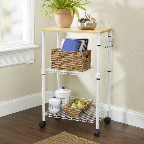 Mainstays Multi-Purpose Kitchen Cart, Multiple Colors