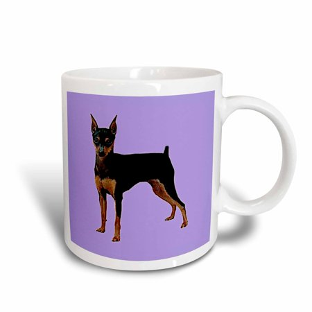 3dRose Miniature Pinscher, Ceramic Mug, 15-ounce