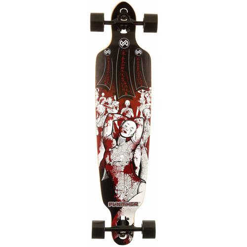 """40"""" Punisher Mannequin Complete Longboard Skateboard"""