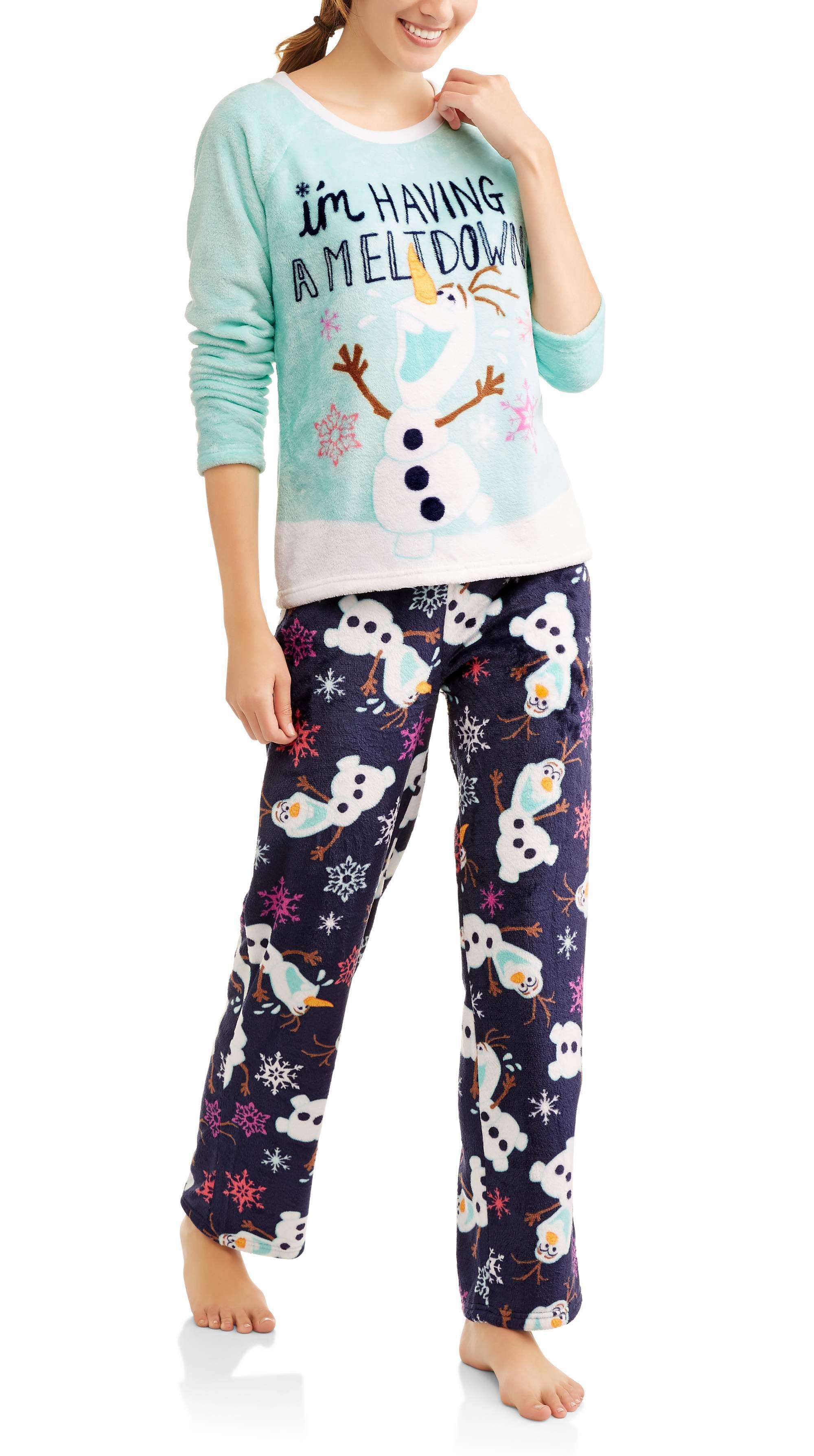 Disney Olaf Women s 2pc Pajama Set – Walmart Inventory Checker ... c91bf4cea
