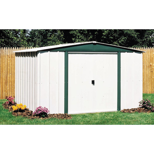 Arrow Hamlet 8' x 6' Steel Storage Shed