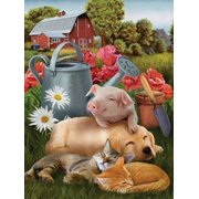 Lazy in the Sun Jigsaw Puzzle 300 Piece Multi-Colored