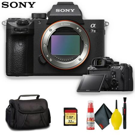 Sony Alpha a7 III Mirrorless Digital Camera - Standard Kit