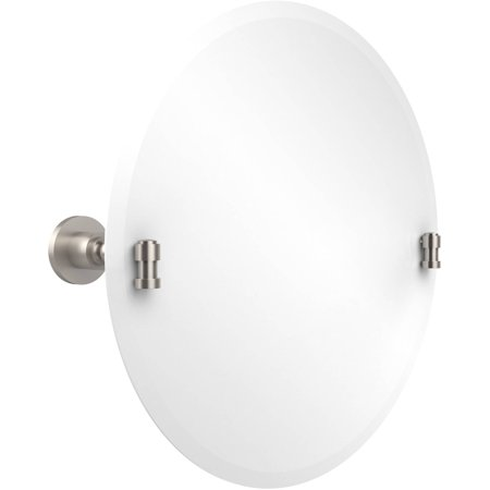 Frameless Round Tilt Mirror with Beveled Edge (Build to Order) Allied Brass Table Mirror