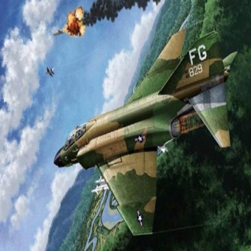 Academy 12294 Phantom F-4c Vietnam 1:48 Plastic Kit
