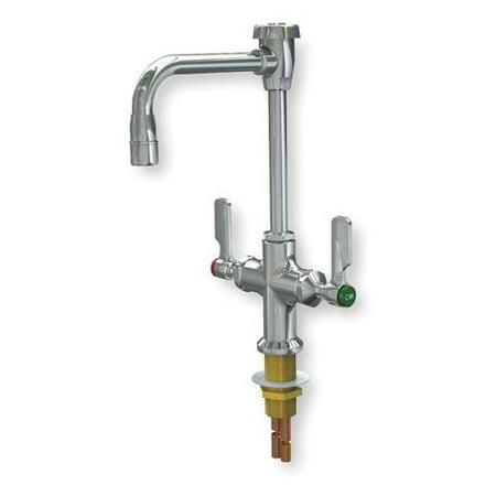 WATERSAVER FAUCET COMPANY L414VB55LE Gooseneck Faucet, 3/8 In O.D. Tube