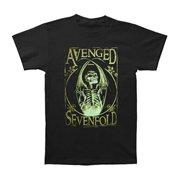 Avenged Sevenfold Boys' Scorched T-shirt Youth Large Black