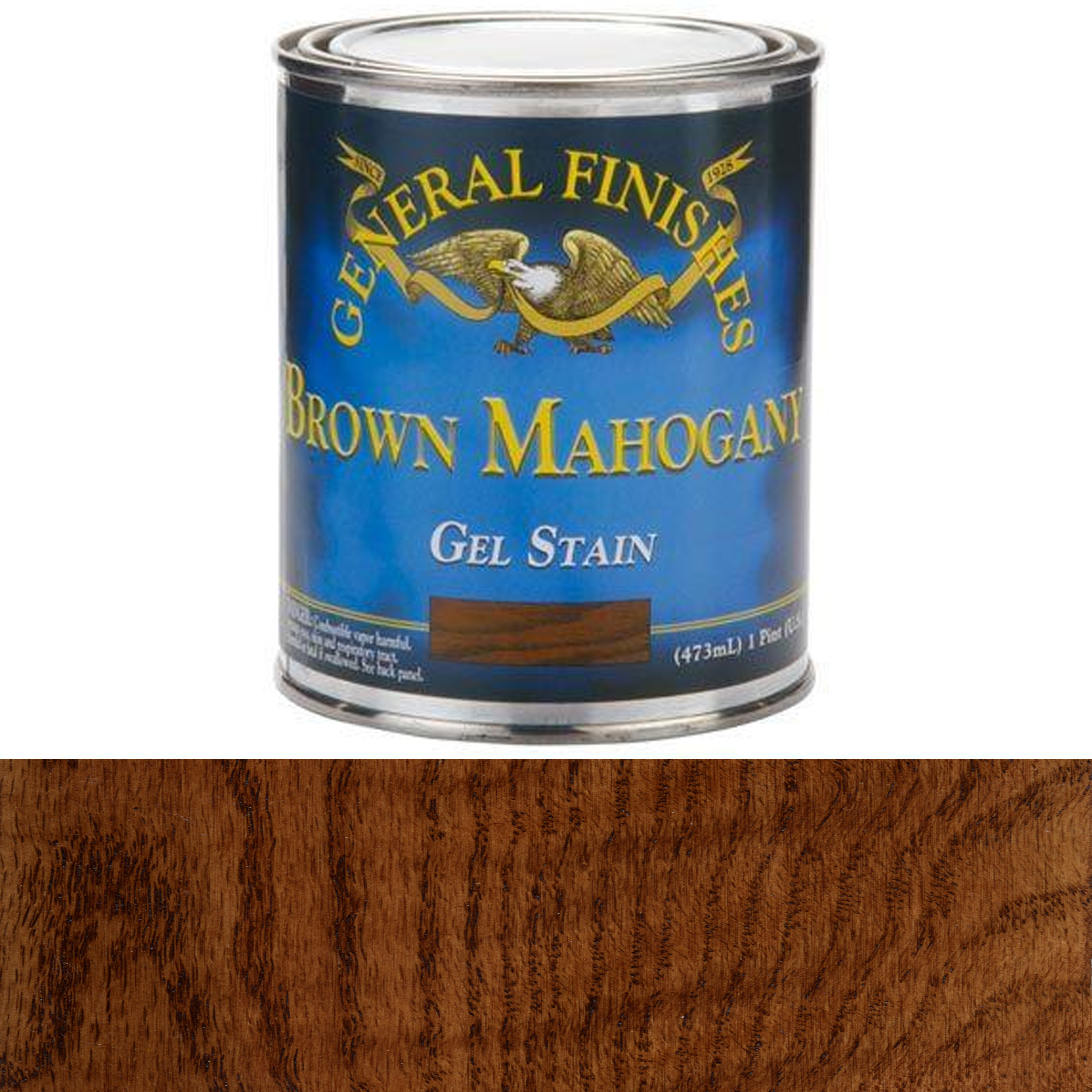 Brown Mahogany Gel Stain, Pint
