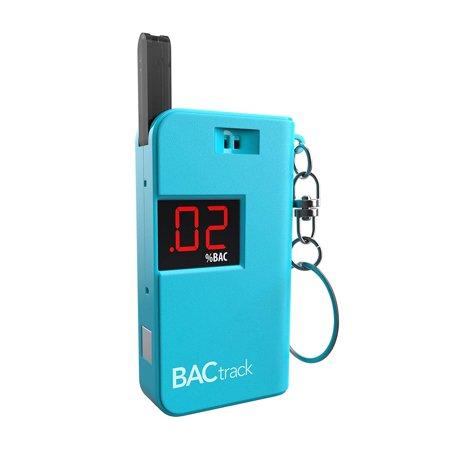 Tester Keychain (Keychain Breathalyzer Portable Keyring Breath Alcohol Tester, Blue BACtrack)