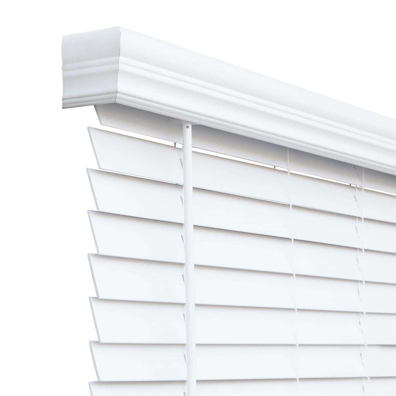 24x48 Inch Espresso Faux Wood Blind Cordless Room Darkening Privacy Window Shade